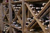Wine rack — Stock Photo