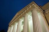 Illuminated columns — Stock Photo