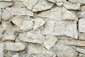 Limestone wall texture — Stock Photo