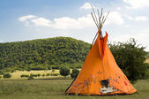 Teepee or wigwam — Stock Photo