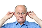 Funny senior man — Stock Photo