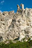 Sandstone cliffs — Stock Photo