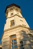 Watchtower in chisinau, moldova — Stock Photo