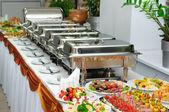 Mesa de banquete — Fotografia Stock