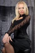 Beautiful blond — Stock Photo