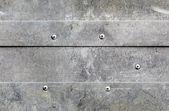 Seamless grunge aluminium background — Stock Photo
