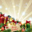Christmas Background. — Stock Vector #7811903