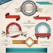 Royalty-Free Stock Vector Image: Vintage Grungy Design Elements.