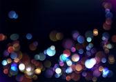 Wazig lights achtergrond. — Stockvector