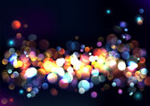 Blurred lights background. — Stock Vector