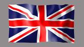 Flagge Grossbritanien — Stock Photo