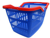 Blue basket — Stock Photo