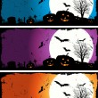 Halloween Set — Stock Vector #7847327