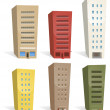 Постер, плакат: Buildings Set