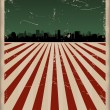Vector de stock : Fourth Of July Poster