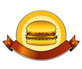 Burger Restaurant Banner — Stock Vector