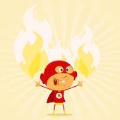 Super Kid Powers ! — Stock Vector