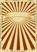Grunge Sunbeams Background — Stock Vector