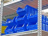 Blue box — Stock Photo