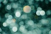 Fundo abstrato luzes verdes — Foto Stock