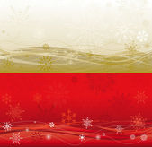 Large Christmas background in two colours — Stock Vector