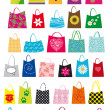 Shopping bags design — Vettoriali Stock