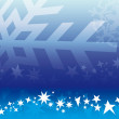 Christmas blue background — Stockvector #7940479