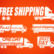 Royalty-Free Stock Vector Image: Shipping icons