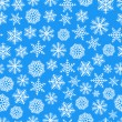 Stock Vector: Winter blue background