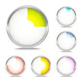 计时器设置 — 图库矢量图片