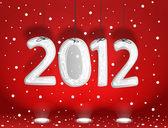 Happy new 2012 — Stock Vector
