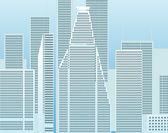 Moderne stadtteil — Stockvektor
