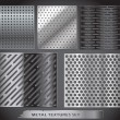 Metal net collection - Stock Vector