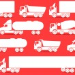 Royalty-Free Stock Imagen vectorial: Different types of trucks