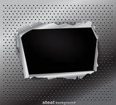 Damaged steel texture — Stock Vector