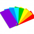 Samples of color (color of a rainbow) - Photo