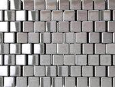 Fundo de bloco de cromo — Foto Stock