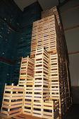 Empire Crate Building — Stock Photo