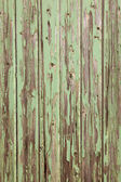 Old wooden door with peeling paint — Stock Photo