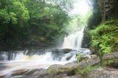 Waterfall at Pontnedfechan — Stock Photo