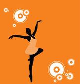 Ballet Dancer — Vetor de Stock
