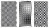 Three Vector Patterns — Stock Vector