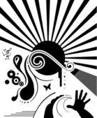 デザイン要素 - 抽象イラスト — ストックベクタ