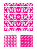 Three Vector Patterns that tiles seamlessly. — Stock Vector