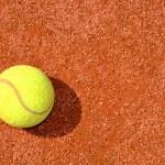 Tennis ball — Stock Photo #7865348