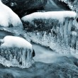 Stock Photo: Winter creek