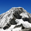 Mountain Chopicalqui , Peru - Stock Photo