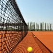 Tennis clay court — Stock Photo
