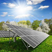 Solar energy panels — Stockfoto
