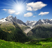 Savoy Alps-Europe — Foto Stock